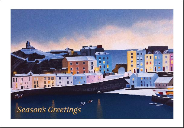 Tenby Christmas Card