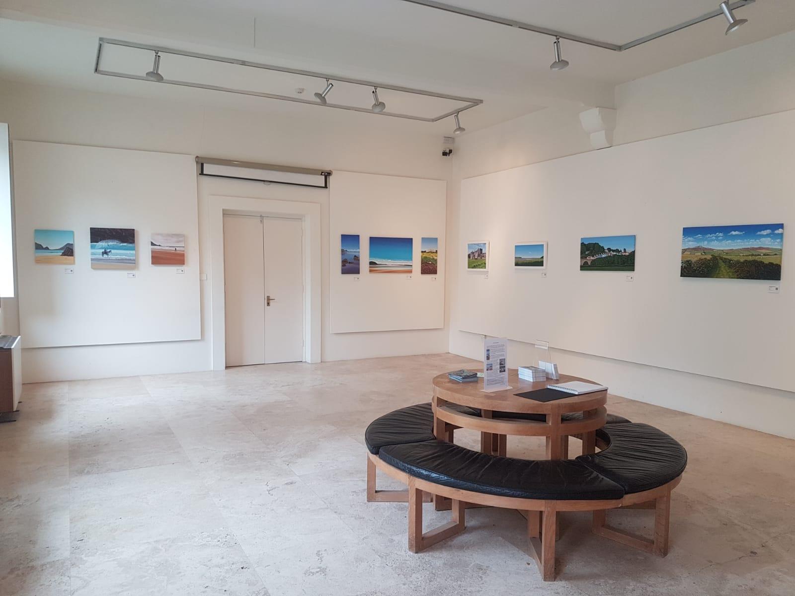 Picton Castle exhibition Dawn Morgan July 2018